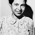 Rosa Parks Was A Member Of The Naacp Print by Everett
