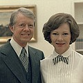 Rosalynn Carter And Jimmy Carter Poster by Everett