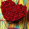 Rose heart and ribbon Poster by Garry Gay