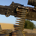 Rounds Of A M240 Machine Gun Poster by Stocktrek Images