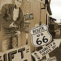 Route 66 Poster by Mike McGlothlen