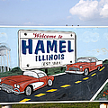 ROUTE 66 SIGN, 2009 Print by Granger