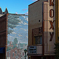 Roxy Theater and Mural Print by Ed Gleichman