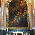 Royal Naval Chapel Interior Print by Anna Villarreal Garbis