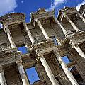 Ruins Of The Great Library At Ephesus Poster by Axiom Photographic
