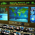 Russian Mission Control Center Poster by NASA