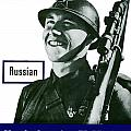 Russian This Man Is Your Friend Poster by War Is Hell Store