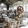 Rusty Machinery Print by Carlos Caetano