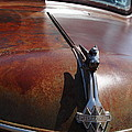 Rusty Old 1935 International Truck Hood Ornament. 7D15506 Poster by Wingsdomain Art and Photography