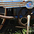 Rusty Old Bicycle . 7D15946 Poster by Wingsdomain Art and Photography