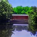 Sachs Covered Bridge in Gettysburg  Poster by Bill Cannon