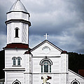 Sacred Heart Church in Placentia Newfoundland Print by Elena Elisseeva