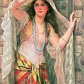 Safie Print by William Clark Wontner