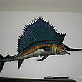 Sailfish Poster by VAL OCONNOR