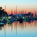 Sailing Boats In Coal Harbour Poster by Dean Bouchard (Being There Photography)