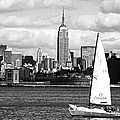 Sailing the New York Harbor Print by John Rizzuto