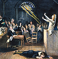 SALEM WITCH TRIAL, 1692 Print by Granger