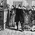 Salem Witch Trials, 1692-93 Poster by Photo Researchers