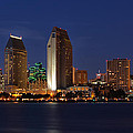 San Diego America's Finest City Print by Larry Marshall