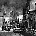 San Francisco Burning After 1906 Print by Science Source