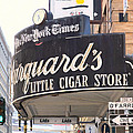 San Francisco Marquard's Little Cigar Store on Powell and O'Farrell Streets - 5D17954 - Painterly Poster by Wingsdomain Art and Photography