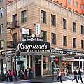 San Francisco Marquards Little Cigar Store on Powell Street - 5D17950 - Painterly Print by Wingsdomain Art and Photography