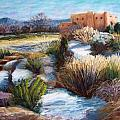 Santa Fe Spring Print by Candy Mayer