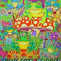 Save Our Frogs Poster by Nick Gustafson