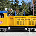 Scale Locomotive - Traintown Sonoma California - 5D19237 Print by Wingsdomain Art and Photography