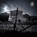 scary house Poster by Stylianos Kleanthous