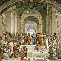 School of Athens from the Stanza della Segnatura Print by Raphael