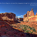 Scripture and Picture Romans 8 37  Print by Ken Smith