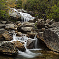 Second Falls - Blue Ridge Falls Print by Andrew Soundarajan