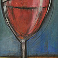 second glass of red Poster by Tim Nyberg