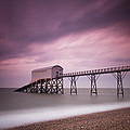 Selsey Lifeboat Station Print by Nina Papiorek