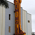 Seminole Theatre 1940 Poster by David Lee Thompson