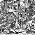 SEVEN DEADLY SINS, 1558 Print by Granger