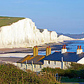 Seven Sisters Cottage View Poster by Michael Stretton