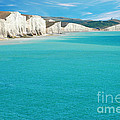 Seven Sisters England Print by Michael Gray