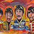 Sgt Pepper Print by Colin O neill