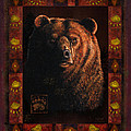 Shadow Grizzly Print by JQ Licensing