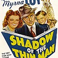 Shadow Of The Thin Man, Myrna Loy Poster by Everett