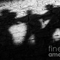 Shadows on the Wall of Edinburgh Castle  Print by Christine Till