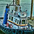 Shaman Tug-HDR Print by Randy Harris