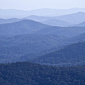 Shenandoah Mountains Print by Pierre Leclerc Photography