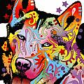 Siberian Husky 2 Poster by Dean Russo