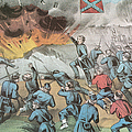 Siege And Capture Of Vicksburg, 1863 Print by Photo Researchers