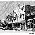 Silver City New Mexico Print by Jack Pumphrey