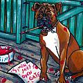 Simon Says Print by Laura Brightwood