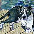 Sittin' on the Dock Print by D Renee Wilson